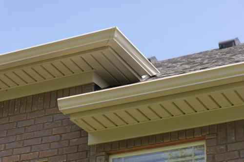 Soffit on Brick House